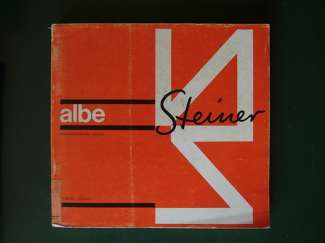 Albe Steiner, catalogo Alinari by laura@popdesign, via Flickr
