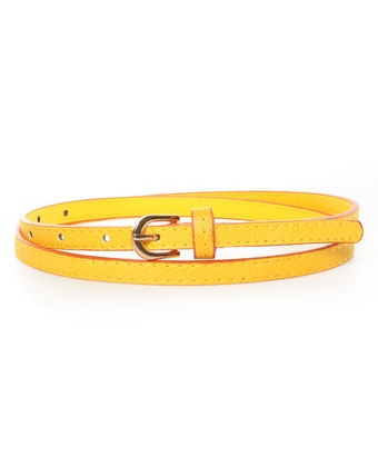 LuLu's Brighten Up Orange and Yellow Belt