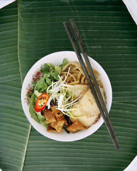 Cau lau. Only in Hoi An Vietnam. Highly addictive http://viaggivietnam.asiatica.com/