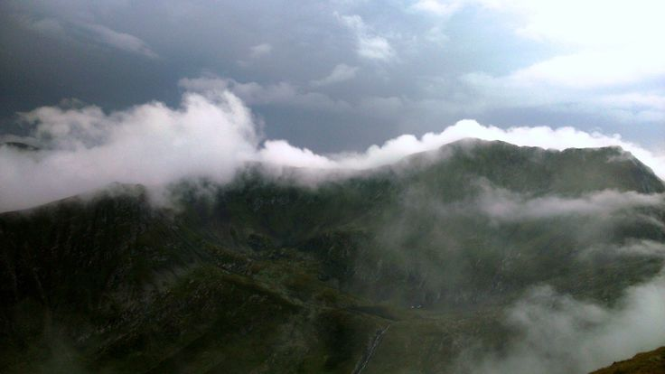 Moldoveanu (2544 m) - the highest Romanian peak.