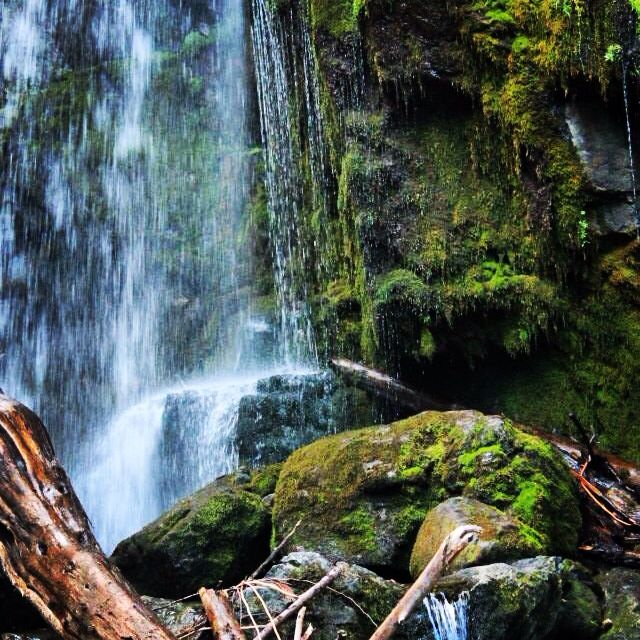 Canyon falls. Kelowna, British Columbia.