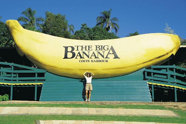 The Big Banana. Coffs Harbour, Australia