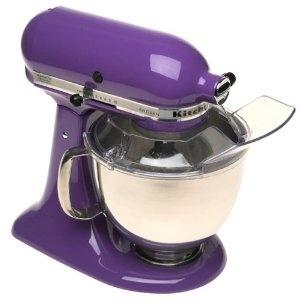 Purple KitchenAid mixer.: Kitchen Aid, Dreams Kitchens, Stands Mixers, Colors, Kitchens Appliances, Pink Kitchens, Kitchens Aid Mixers, Purple Kitchens, Kitchenaid Mixers