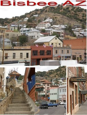 Bisbee Arizona is an amazing little town. Filled with winding roads and hidden back alleys you can completely get lost in. And if your in the mood for a good ghost tour make your reservations at Sweet Midnight at the Copper Queen Hotel. www.arizonasunshinetours.com