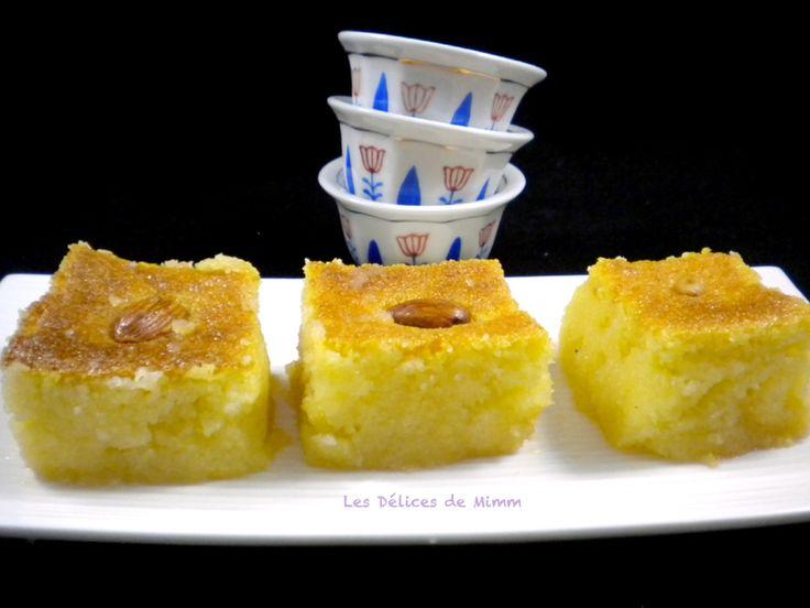 Namoura : un petit gâteau de semoule libanais en 2020 ...