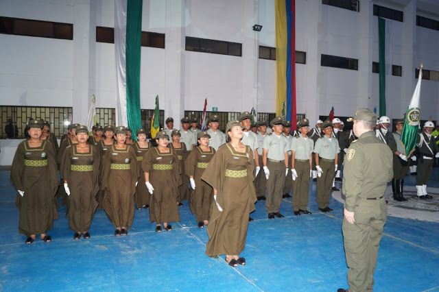*La ceremonia oficial de ascenso de los 57 nuevos patrulleros de la República de Colombia, se realizó el viernes 10 de marzo de 2017.    *Lo...