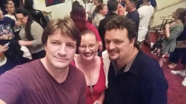 17 ноября 2016 г. — Нэйт посетил театр в АделаидеNathan Fillion | Нэйтан Филлион