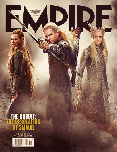 The Desolation Of Smaug Empire Cover - Collector's Cover (X)