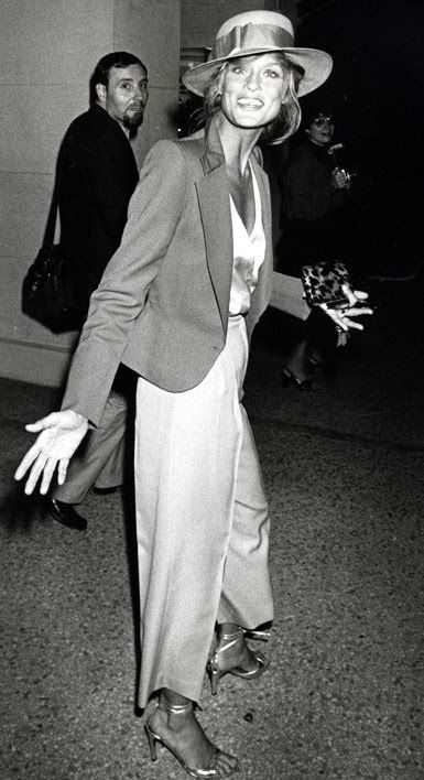 Lauren Hutton. Off the charts in the cool department. Seriously.