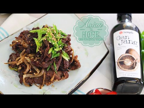▶ Bulgogi (Korean BBQ Recipe) : Bulgogi Recipe : Grilled Marinated Beef - YouTube