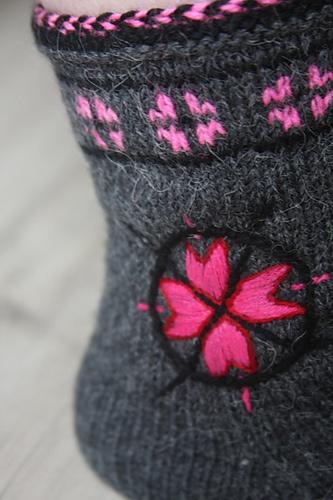 Fabulous Details - Ravelry: toopink's socks