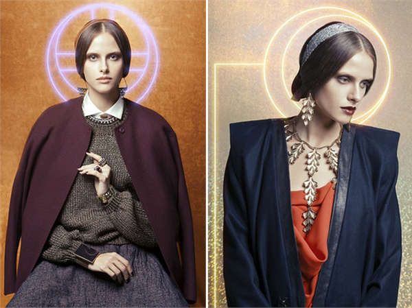 Christian Iconography Editorials - The Way of Bizantinum Vogue Italia Fashion Story is Symbolic (GALLERY)