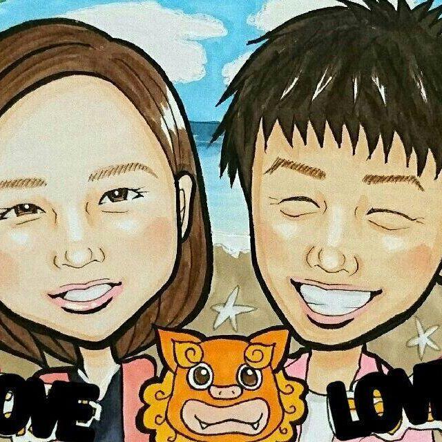 【renyaaman】さんのInstagramをピンしています。 《ご依頼品ですー♪ 沖縄verです\(^o^)/♪ 描くの大好き沖縄ver♥ ありがとうございました♪  篠原涼子のドラマが切なくて涙(T_T) いくら子供にイライラしても こうはなりなくないと思ってしまったー! しかし演技上手すぎるーっ! 。 。 。 #絵#イラスト#art#illustration #似顔絵#ウェルカムボード #wedding#drowning#結婚式 #anniversary#paint#記念 #プレゼント#present#誕生日 #birthday#portrait#karikatur #オーダー#gift#order#love #海#sea#沖縄#シーサー》