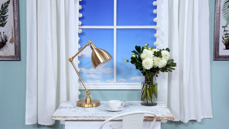 How to get the look of custom drapes without the pricetag