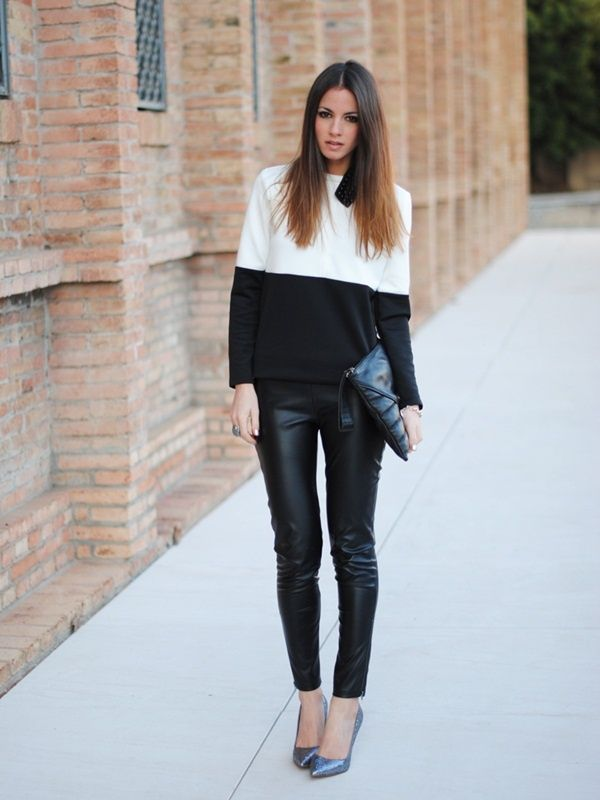 Black And White Outfits