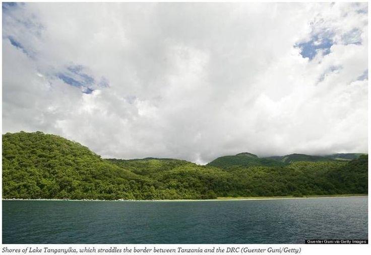 O lago Tanganyika, na fronteira entre a Tanzânia e a República Democrática do Congo, preserva lugares quase intocados pelo homem