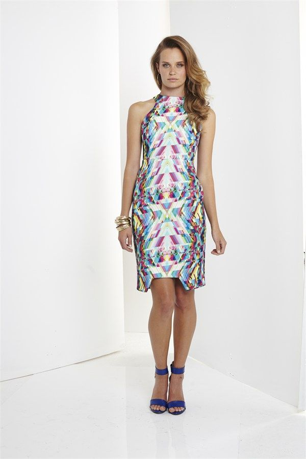 Geometry Fitted Dress by Ministry of style by Bebe Sydney
