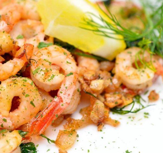 Recept Grilované krevety
