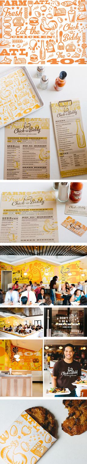 Chick-a-Biddy Farm Fresh Chicken & Sides is a southern cooking inspired chicken restaurant with a twist. Located in Atlanta, GA.