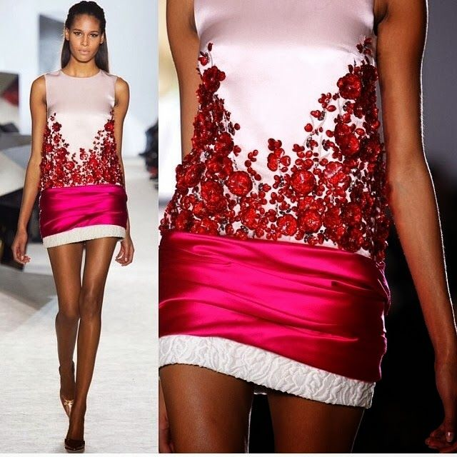 Lucy May's Fashion Blog: Shiny Flowers so Great Stylization. Hot or Not ???...