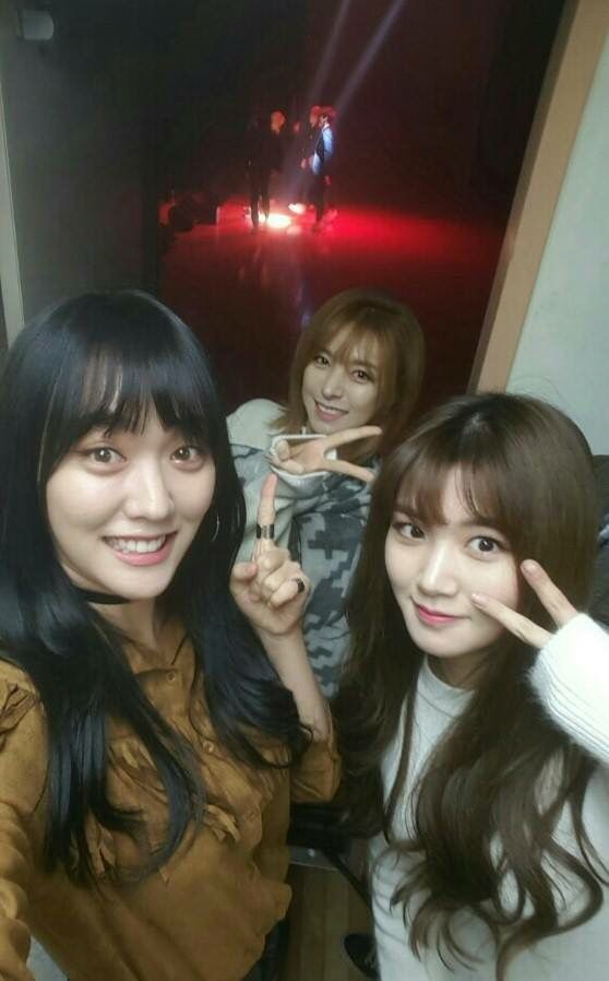 Lime, Alice and Yeoreum