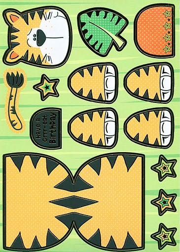 tijger knutselen met kleuters