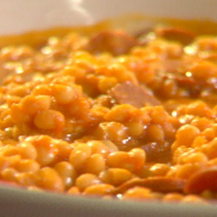 Portuguese White Beans Recipe--adapted this recipe for the slow cooker and we loved it