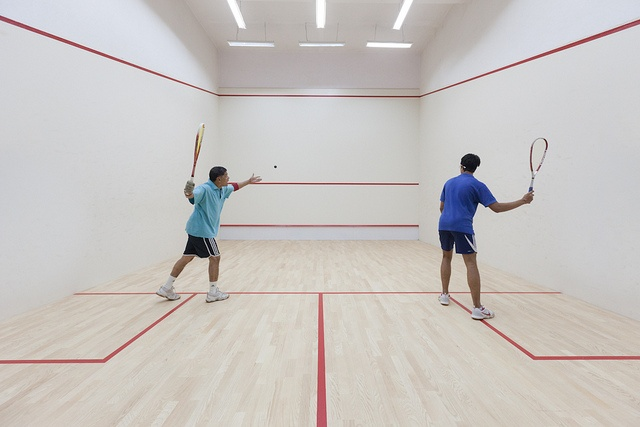 Squash! My most favourite sport in the world to play. Why don't more people play it? :(  (Bangalore Club's New Squash Court by Joseph Cairns, via Flickr)