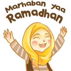Express your chat with this stickers. Have a blessed fasting month for upcoming Eid Mubarak