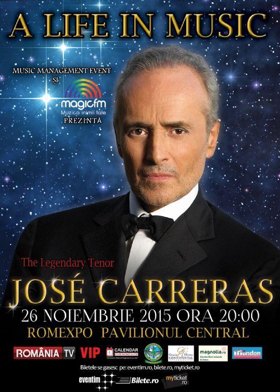 Joi, 26 Noiembrie 2015, ora 20:00, Romexpo, Bucuresti