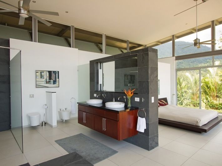 Modern conveniences in designer modern home for sale in Ojochal Costa Ric