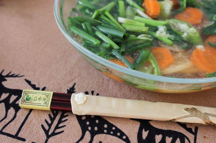 Как и из каких продуктов приготовить вегетарианский суп рамен