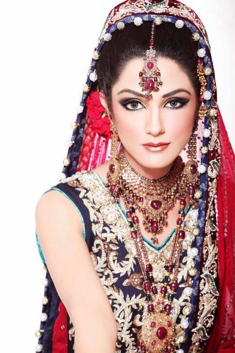 India Bridal Make up