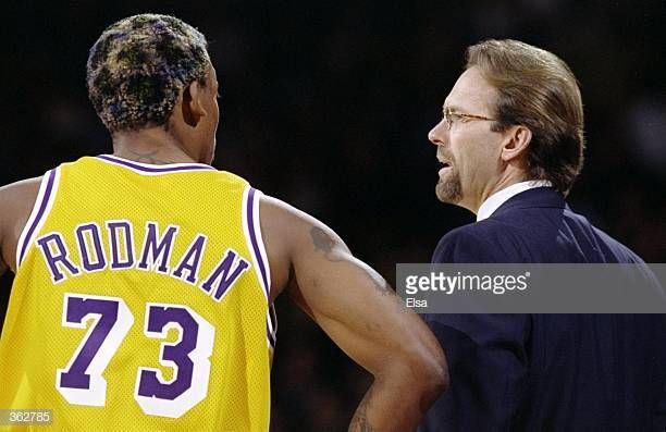 Pin By John Sorensen On Basketball Pictures In 2020 Dennis Rodman Los Angeles Lakers Basketball Pictures