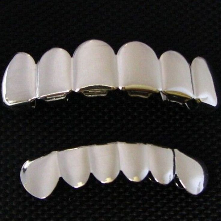 6 Tooth FREE SHIPPING Silver Custom Top Bottom GRILLZ Bling Mouth Teeth Caps Hip Hop Grills♦️ SMS - F A S H I O N 💢👉🏿 http://www.sms.hr/products/6-tooth-free-shipping-silver-custom-top-bottom-grillz-bling-mouth-teeth-caps-hip-hop-grills/ US $8.16