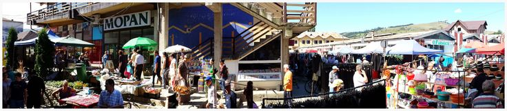 https://flic.kr/p/oThA6n | Market in Gura Humorului -Bucovina -Romania | Ph Amos Locati   August 2014
