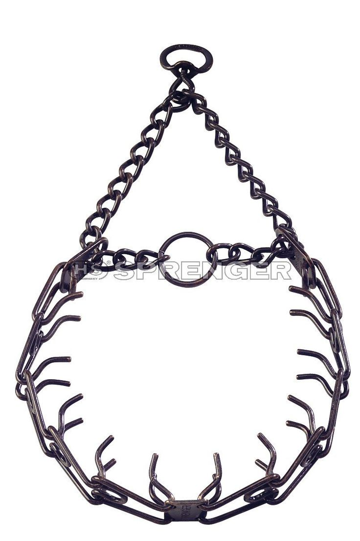 Herm Sprenger Prong Training Collar Black Small 16' x 2.25 MM | Fits neck size up to 12' >>> Details can be found by clicking on the image. (This is an affiliate link and I receive a commission for the sales)
