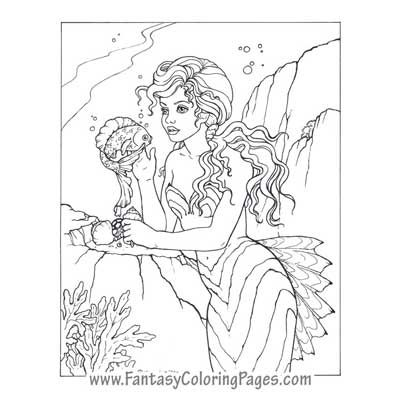 The 178 best images about Free Colouring Pages Mermaids