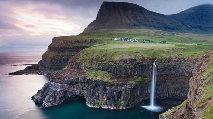 Faroe Islands, Denmark: Bucketlist, Bucket List, Beautiful, Waterfall, Places I D, Travel, Faroe Islands