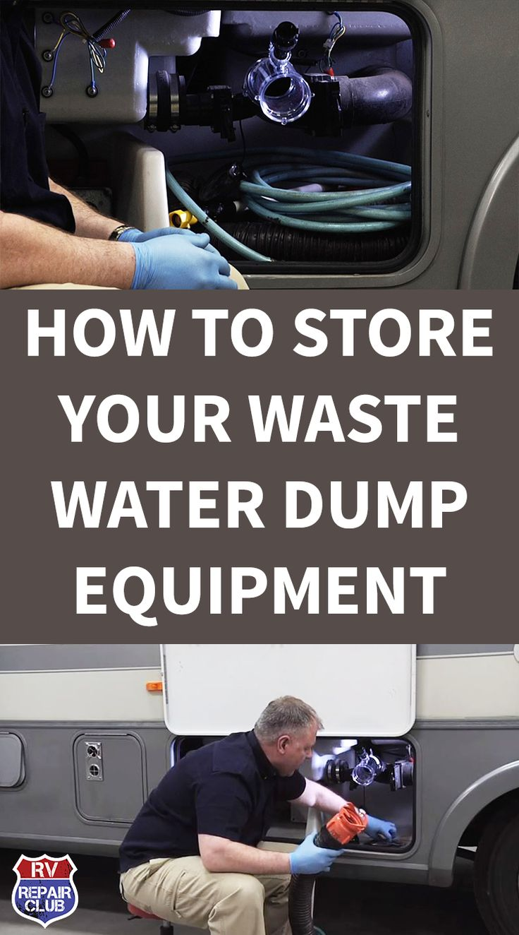 How to Properly Store Your RV Waste Water Dump Equipment