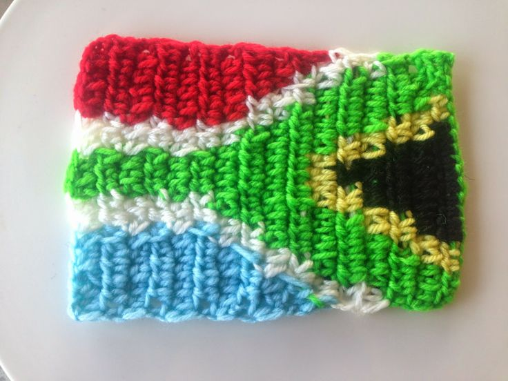 Crochet flag of South Africa from Crochet by 'The Way'