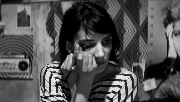 A girl walks home alone at night (2014) by Ana Lily Amirpour The narrative is a tad flimsy, but who cares, this little nugget is all about the atmosphere. Plus it's in Farci.
