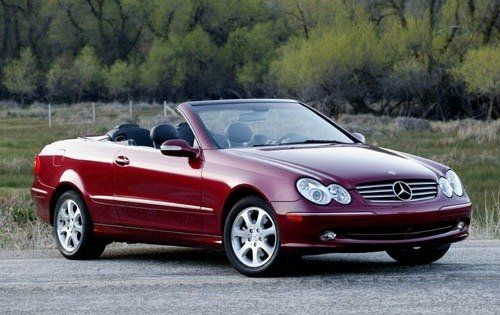 Used 2004 Mercedes Benz Clk Cl For Pricing Features