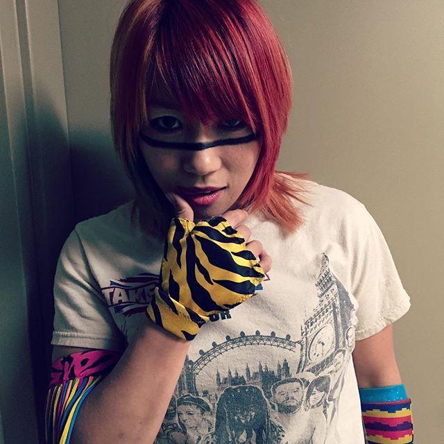 WWE NXT @wwenxt #Asuka has ONE th...Instagram photo   Websta (Webstagram)