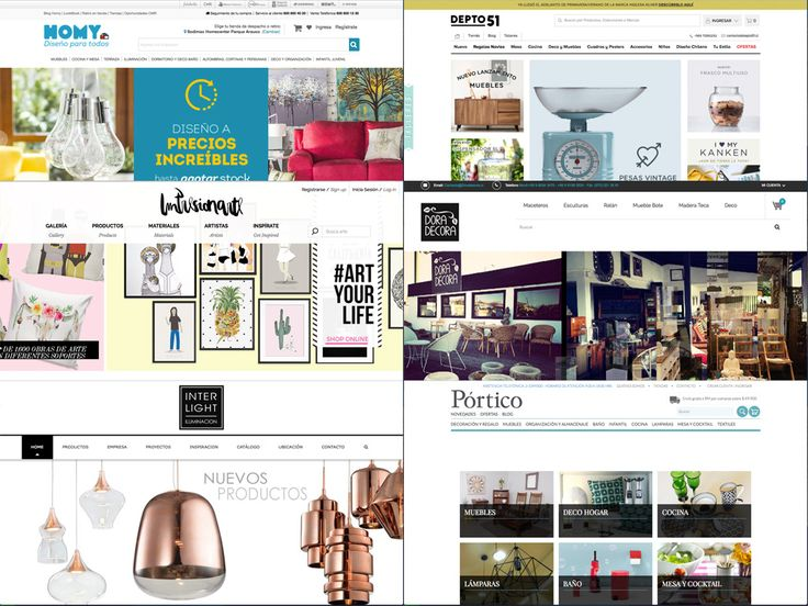 Guía de tiendas de decoración en Chile