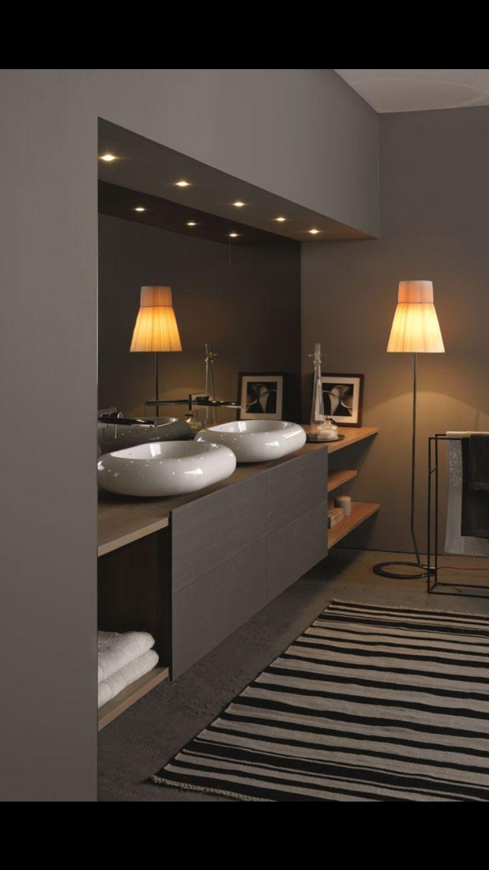Baño doble lavabo dormitorio principal