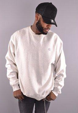 Vintage white Champion sportswear sweatshirt from Port Independent.