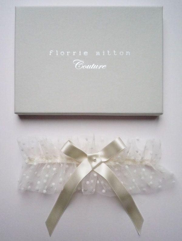 Tul y Flores · Inspiración para tu boda: Ligas para novias · Florrie Mitton