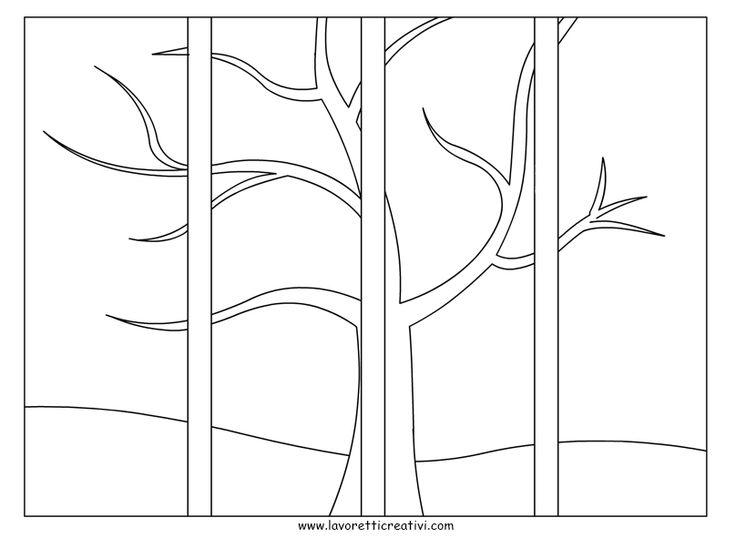 4 stagioni albero