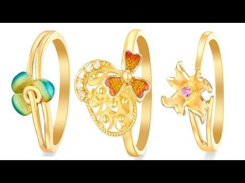 latest gold ring designs  Daily Wear Gold Rings Designs For Womenrings d...